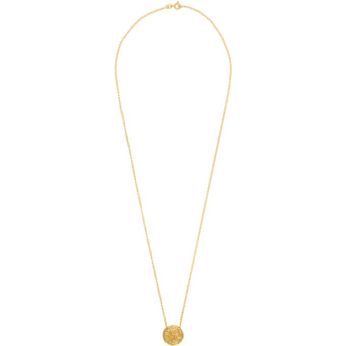 Photo: Dear Letterman Gold Noor Necklace