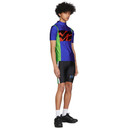 Martine Rose SSENSE Exclusive Black and Blue Cycling Shorts