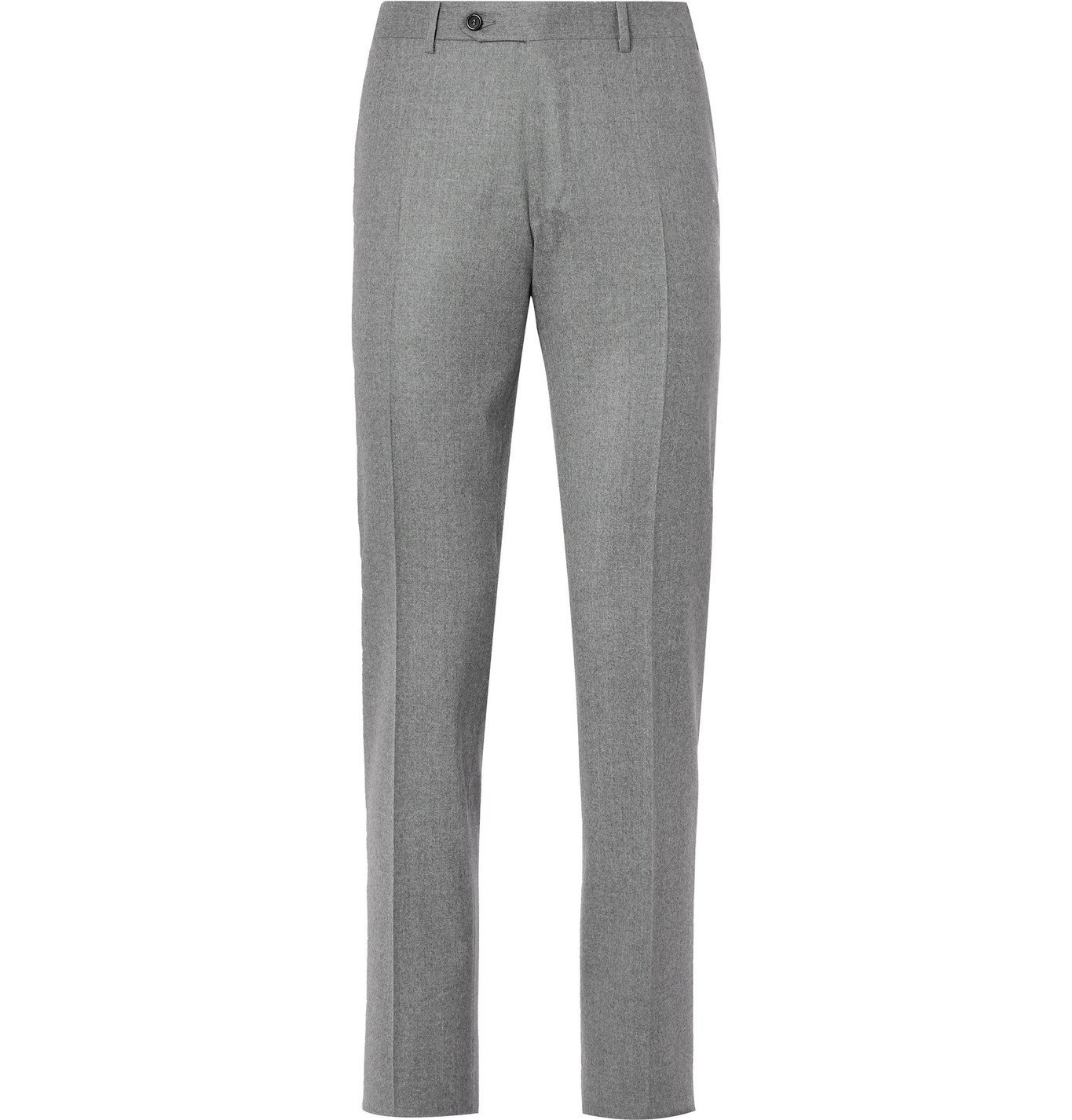 Photo: Canali - Kei Wool Suit Trousers - Gray