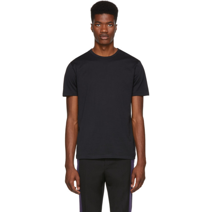 Sunspel Black Classic T-Shirt