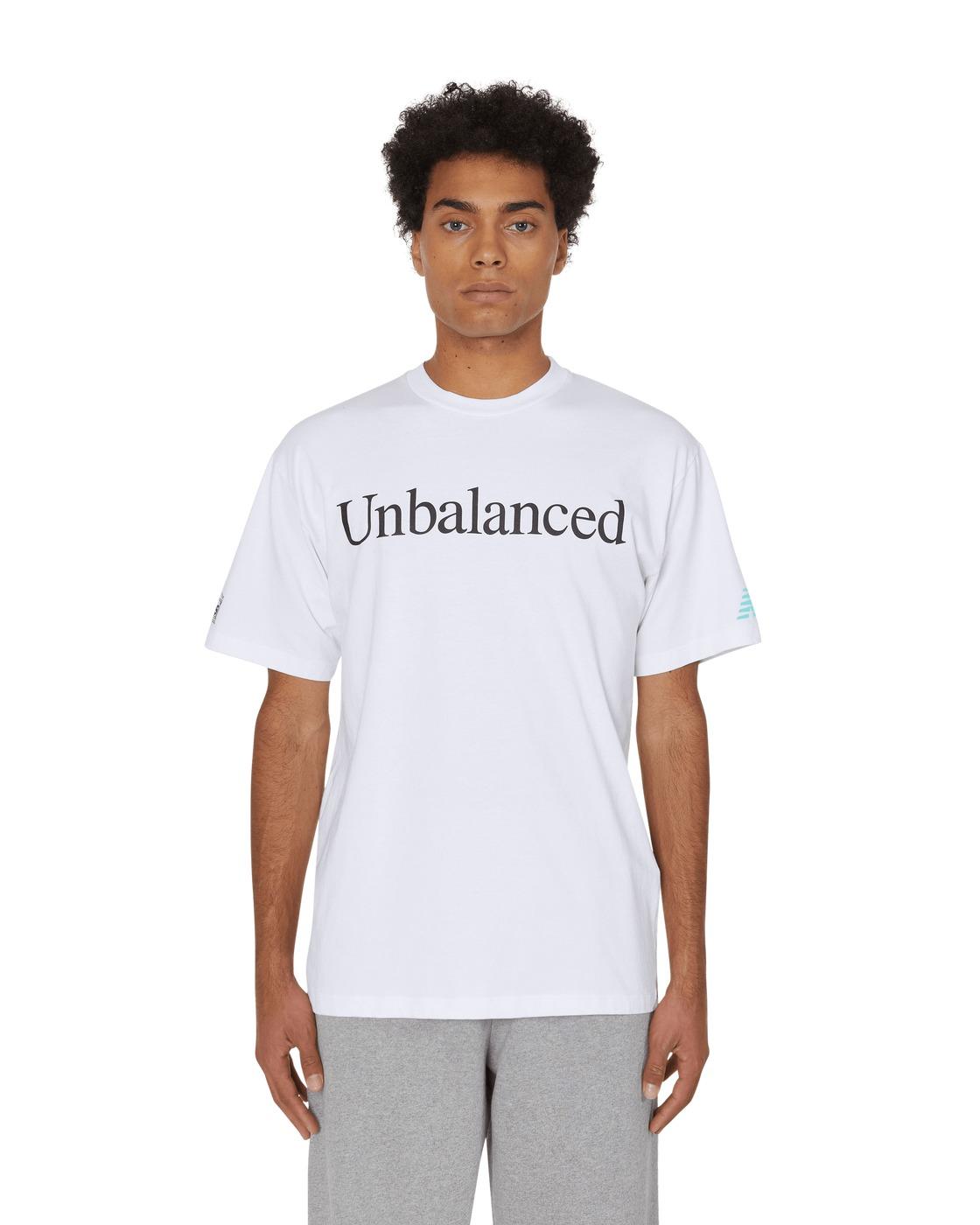 Aries Unbalanced T Shirt White