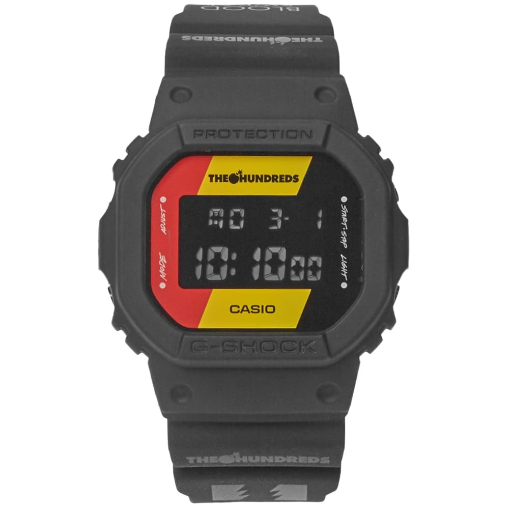 Photo: Casio G-Shock x The Hundreds DW-5600M-3ER 15th Anniversary Watch