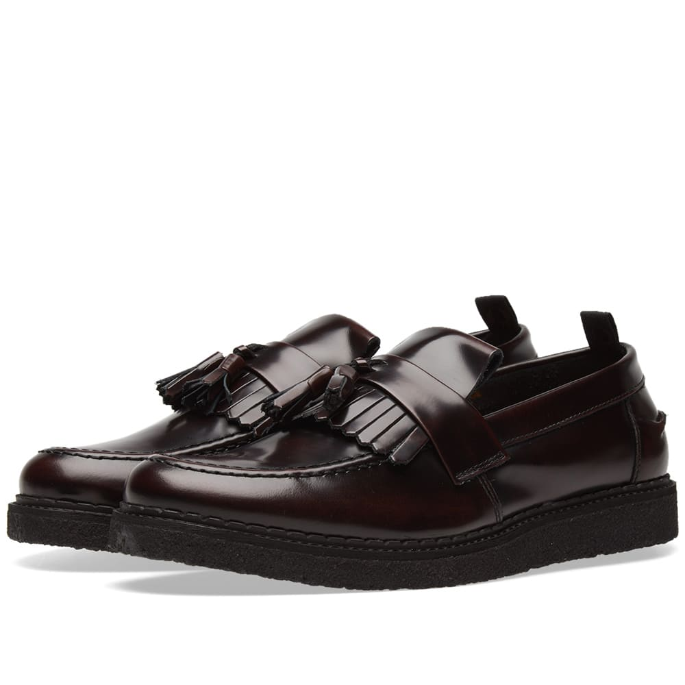 Photo: Fred Perry x George Cox Leather Tassel Loafer