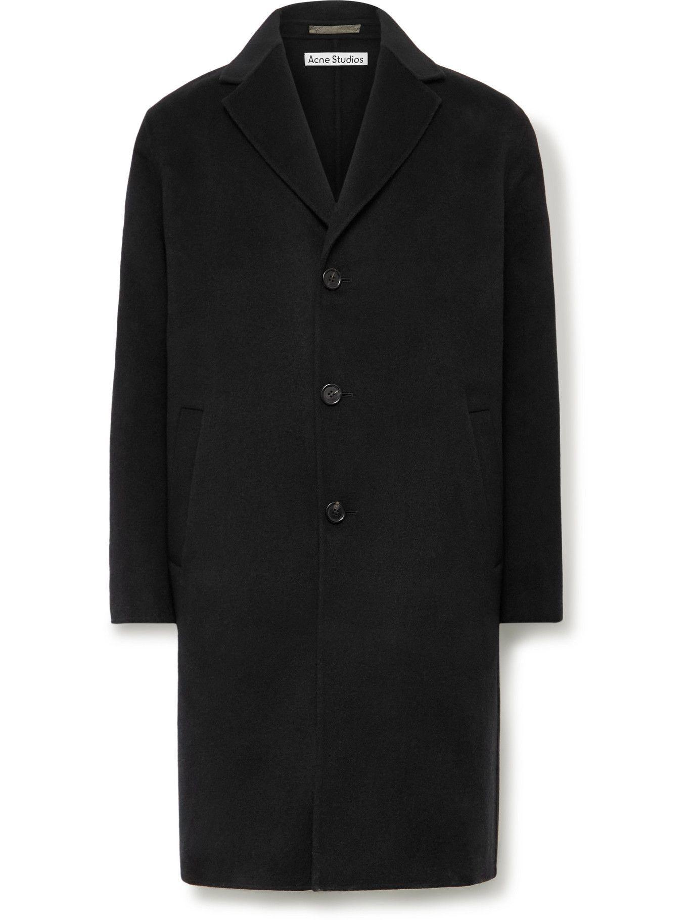Photo: Acne Studios - Oversized Double-Faced Wool Coat - Black