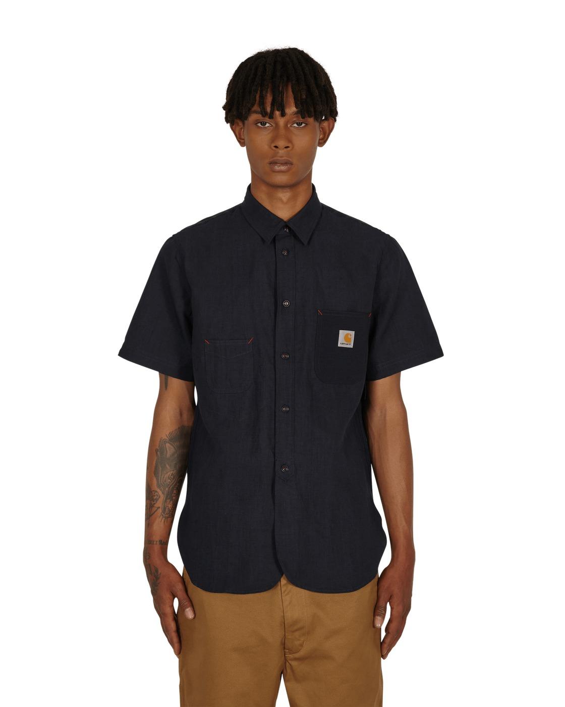 Photo: Junya Watanabe Man Carhartt Shortsleeve Shirt Navy