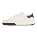 adidas Originals White and Navy Rod Laver Sneakers