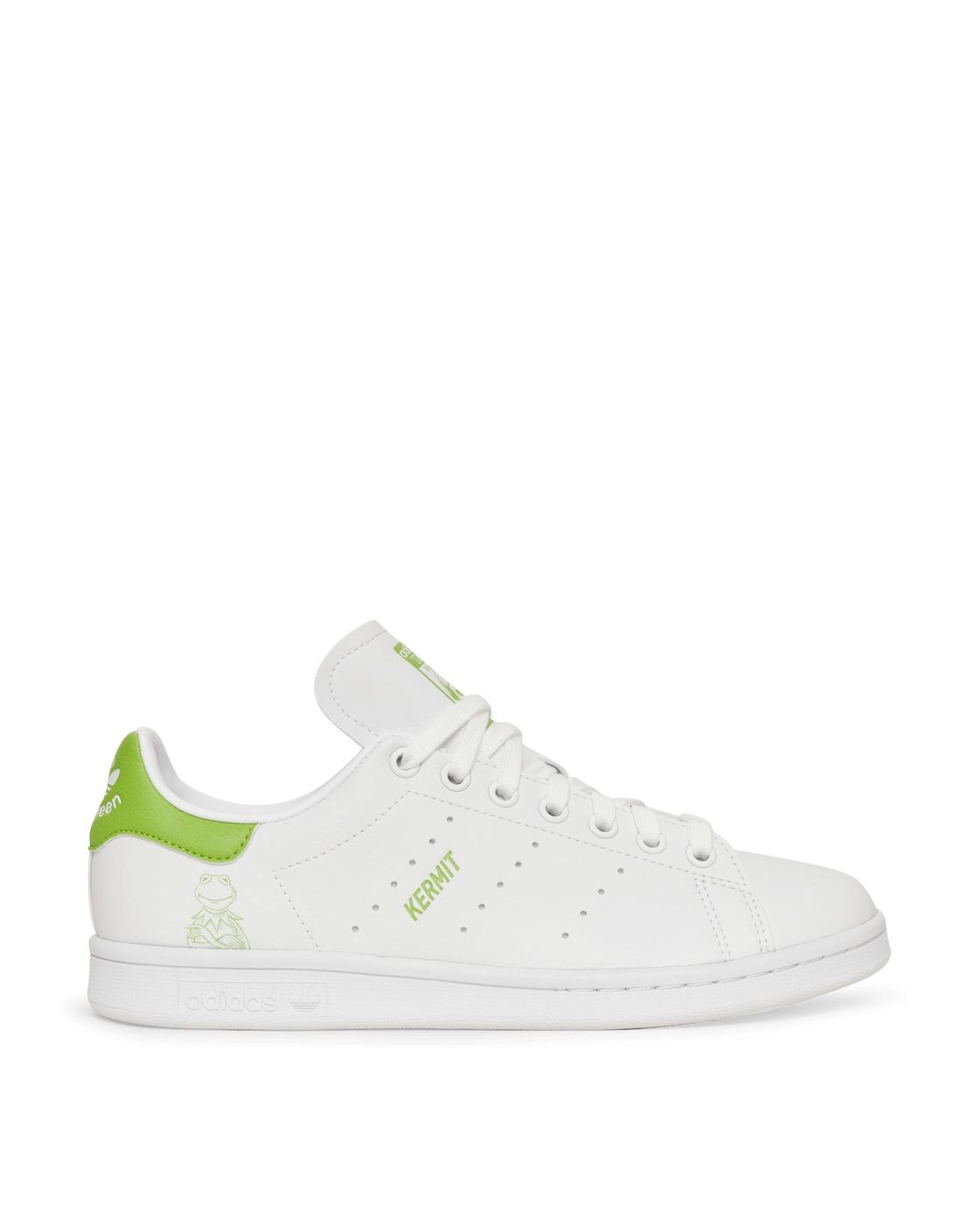 Photo: Adidas Originals Disney Kermit Stan Smith Sneakers Ftwr White/Pantone