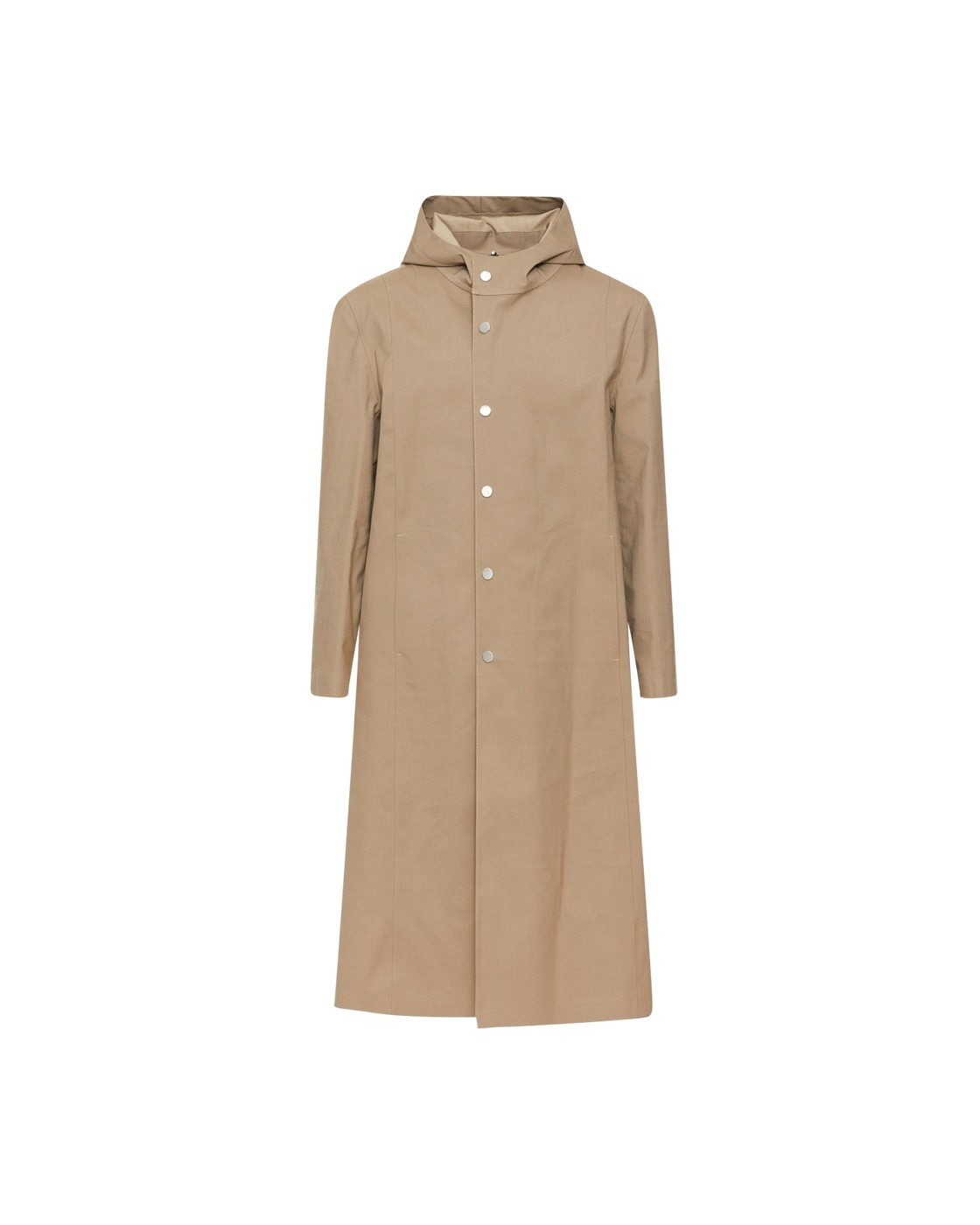 Photo: 1017 Alyx 9sm Mackintosh Hooded Coat Tan