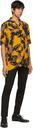 Hugo Orange Efab Short Sleeve Shirt