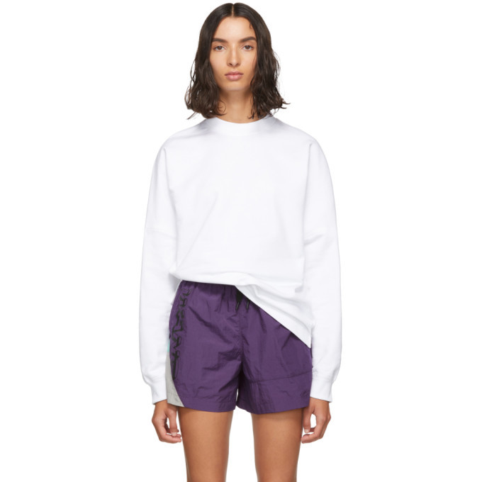 Photo: alexanderwang.t White Dry French Terry Sweatshirt