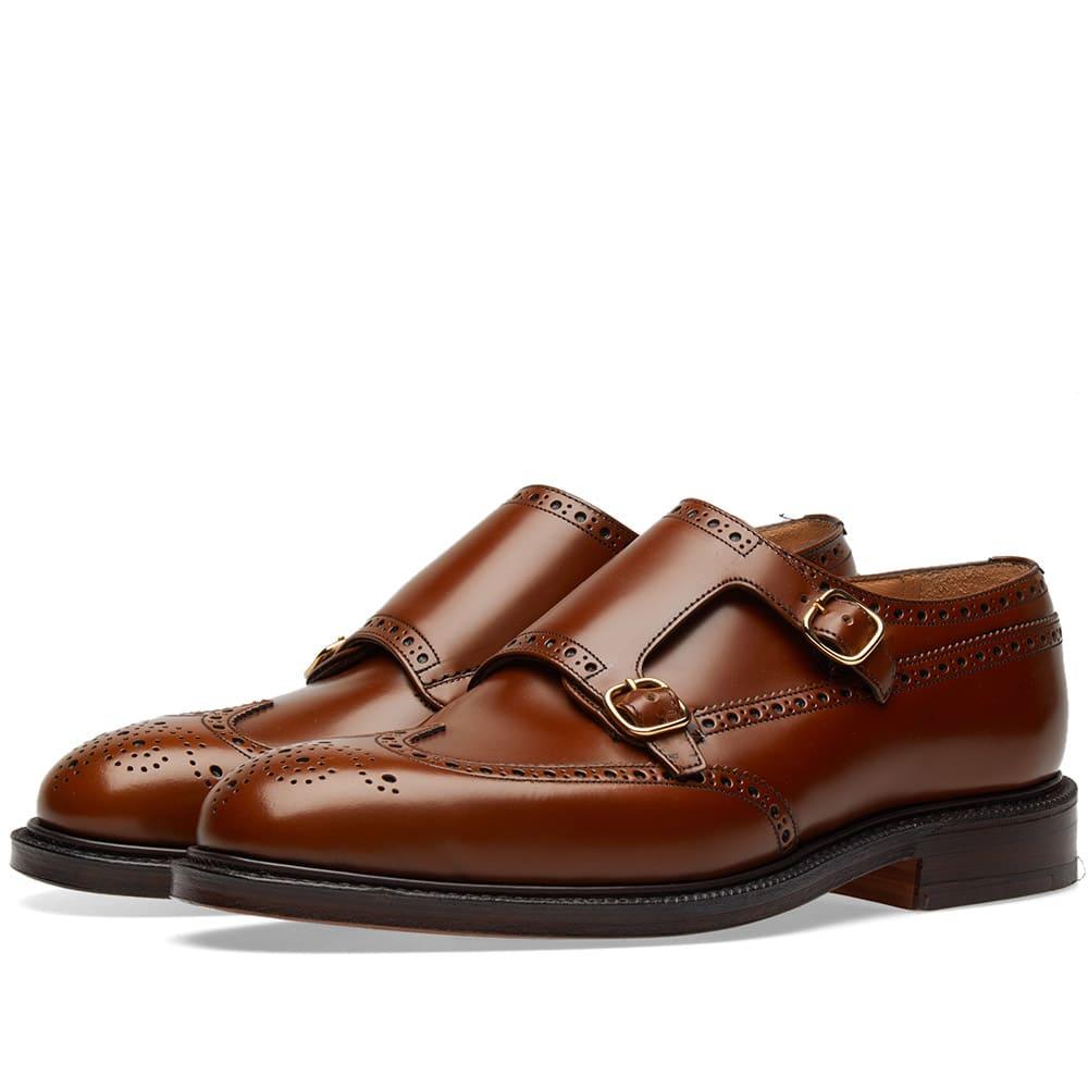 Photo: Church's Monkton 2 Strap Monk Shoe Brown