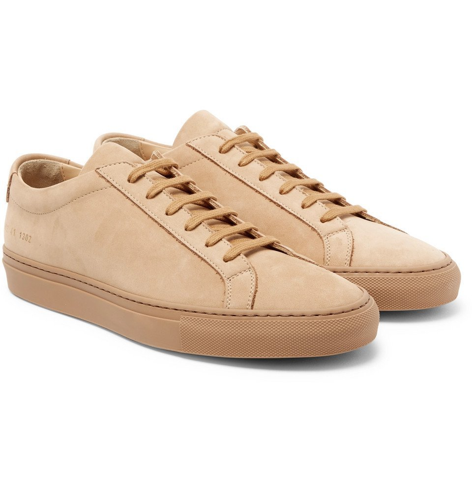 Common Projects - Original Achilles Nubuck Sneakers - Men - Tan
