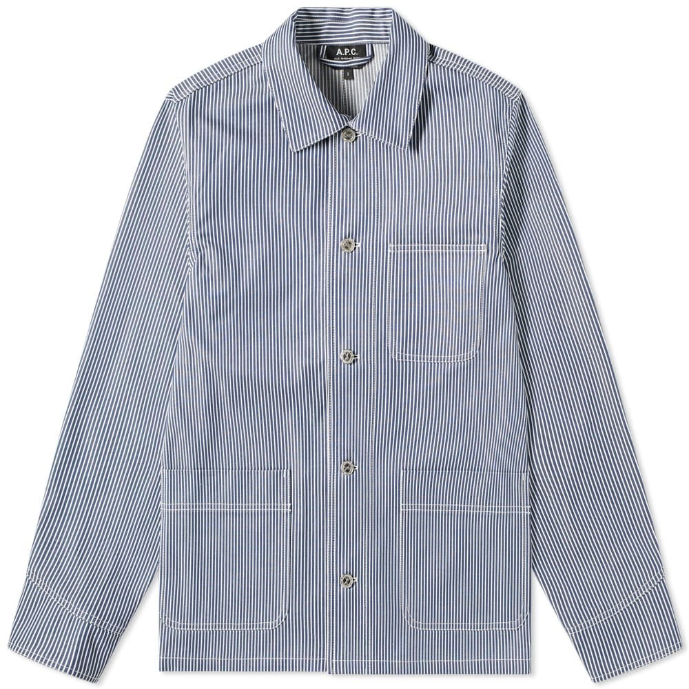 Photo: A.P.C. 3 Pocket Workwear Jacket