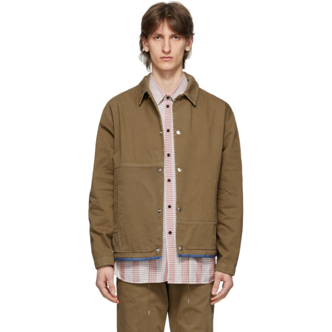 Photo: OAMC Tan Cascade Jacket