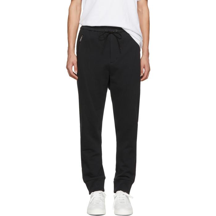 3.1 Phillip Lim Black Trapunto Lounge Pants