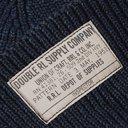 RRL - Ribbed Mélange Cotton Beanie - Blue