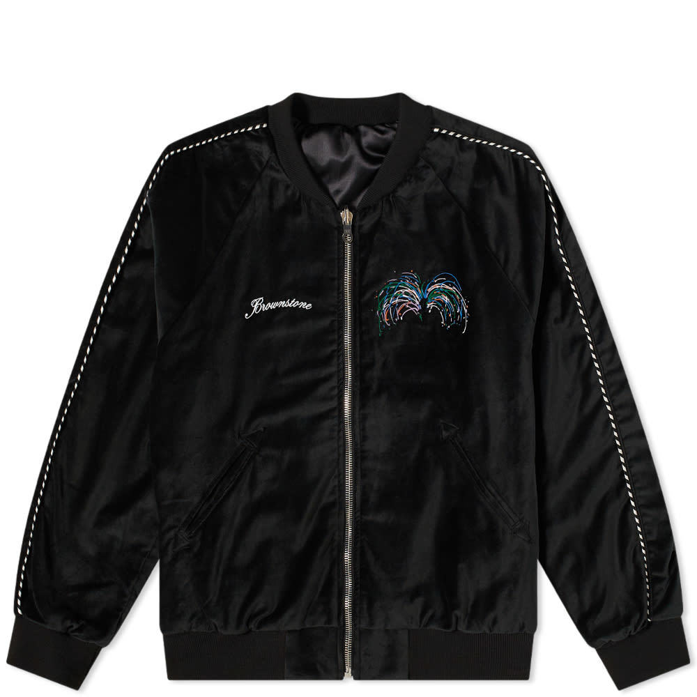 Photo: Brownstone Reversible Sukajan Jacket