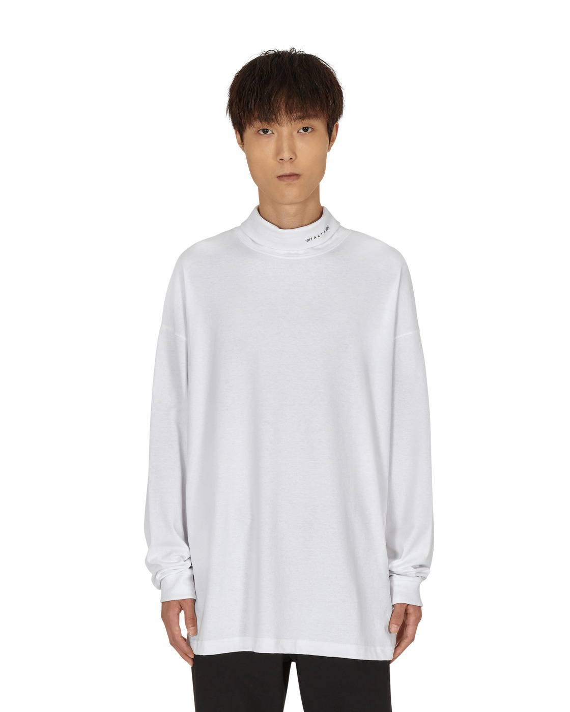 Photo: 1017 Alyx 9sm Visual Roll Neck Longsleeve T Shirt