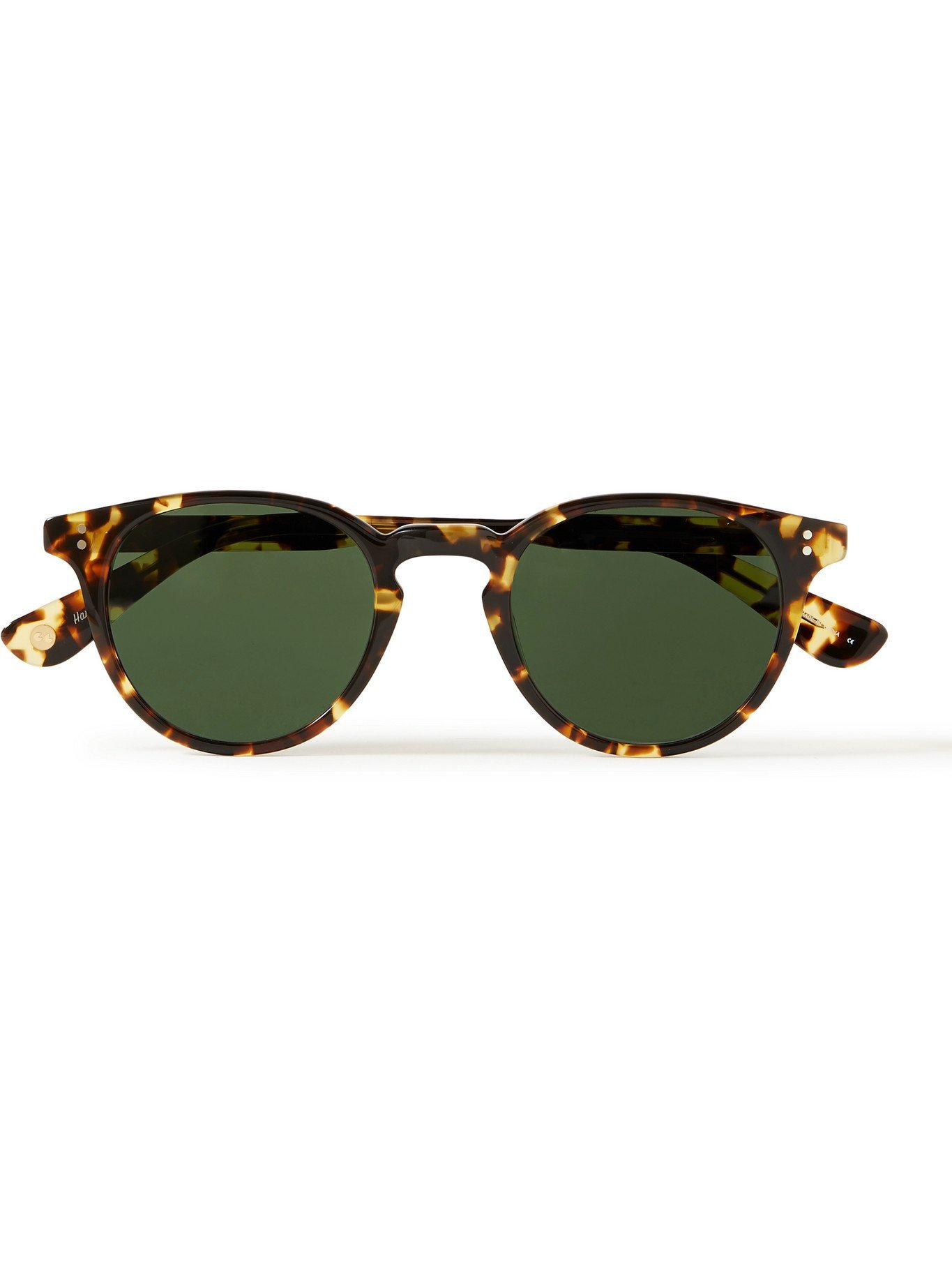Photo: GARRETT LEIGHT CALIFORNIA OPTICAL - Clement Round-Frame Acetate Sunglasses