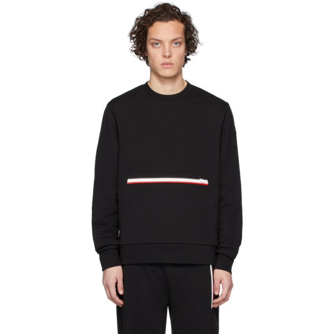 Photo: Moncler Black Girocollo Sweatshirt