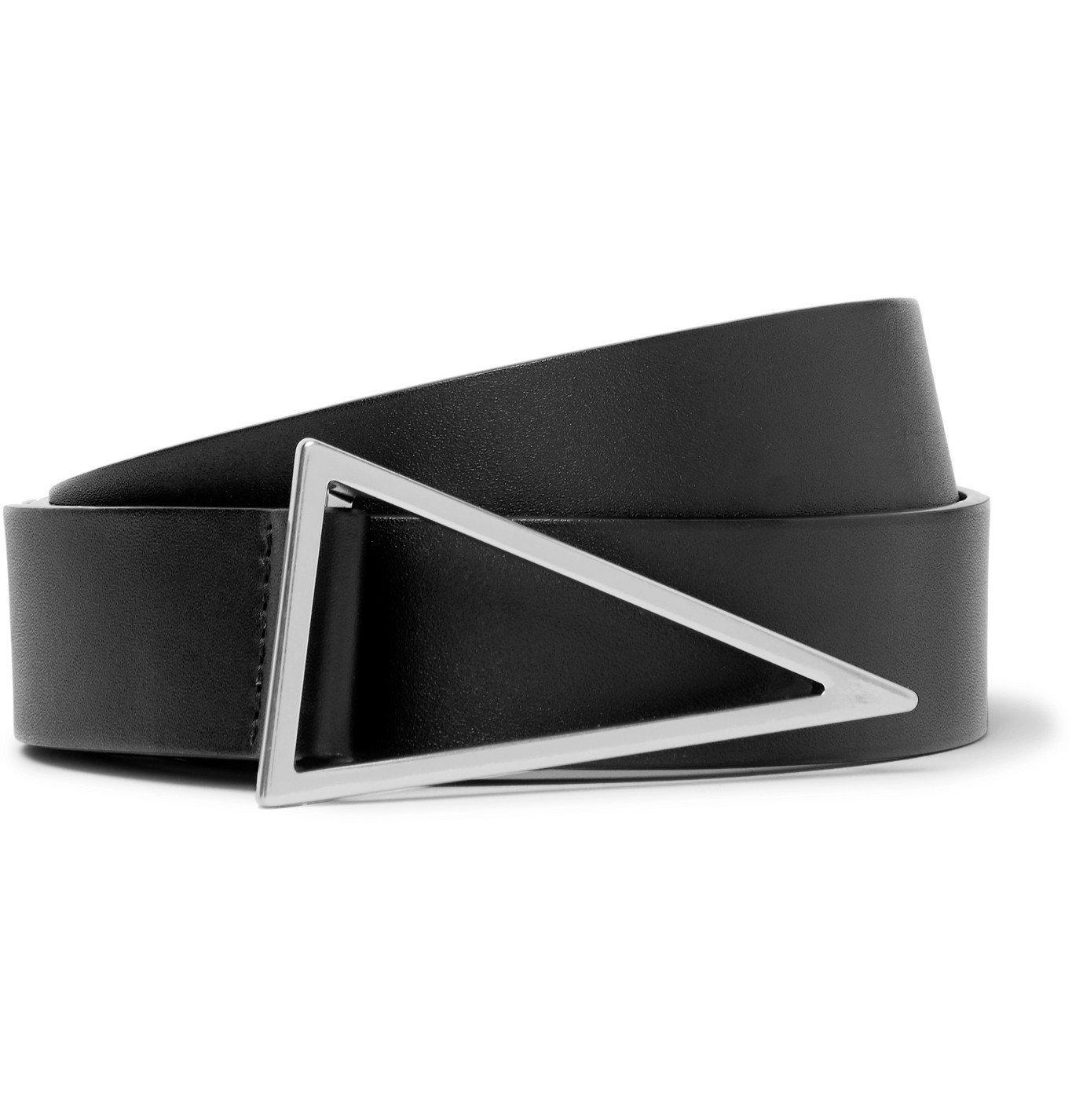 Photo: Bottega Veneta - 3cm Leather Belt - Black