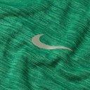 Nike Running - Sphere Logo-Print Mélange Dri-FIT Top - Green