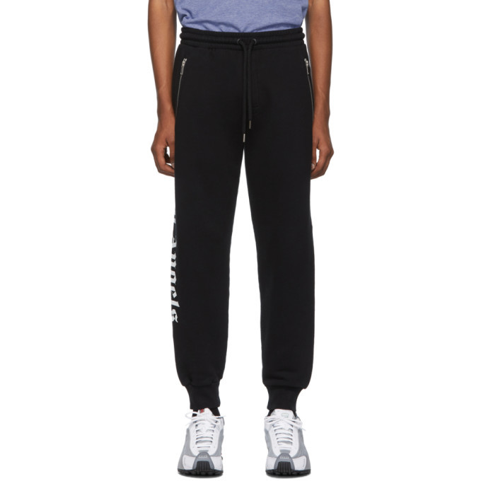 Photo: Palm Angels Black Logo Over Jogging Pants