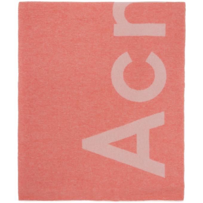 Acne Studios Pink Toronty Scarf