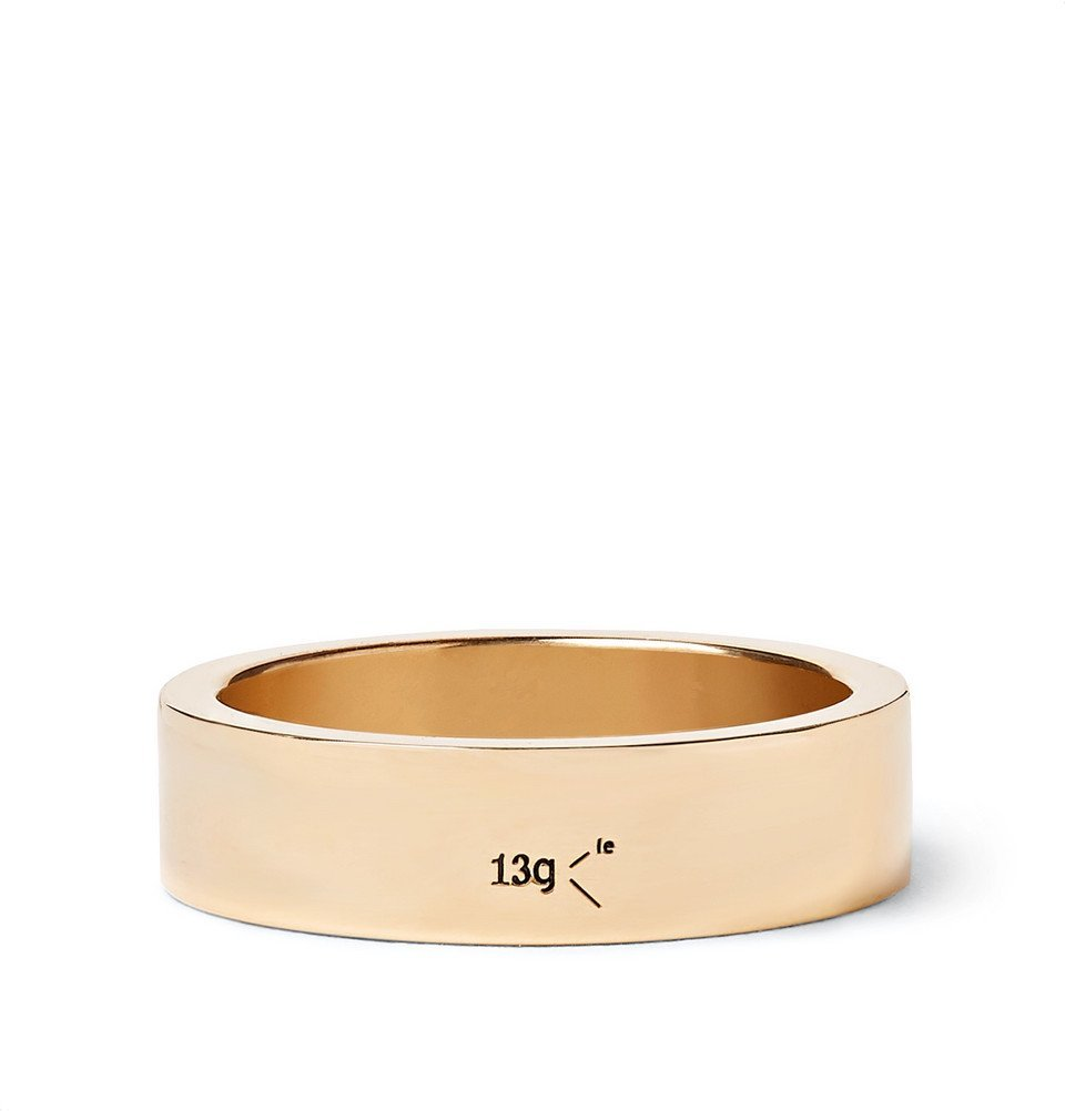 Photo: Le Gramme - Le 13 Slick Polished 18-Karat Gold Ring - Gold