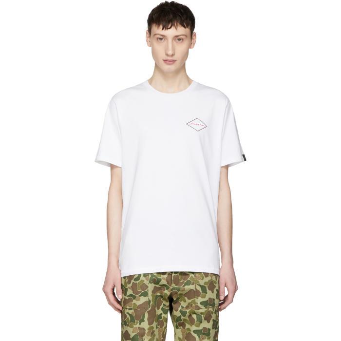 Photo: Rag and Bone White Mini Graphic T-Shirt