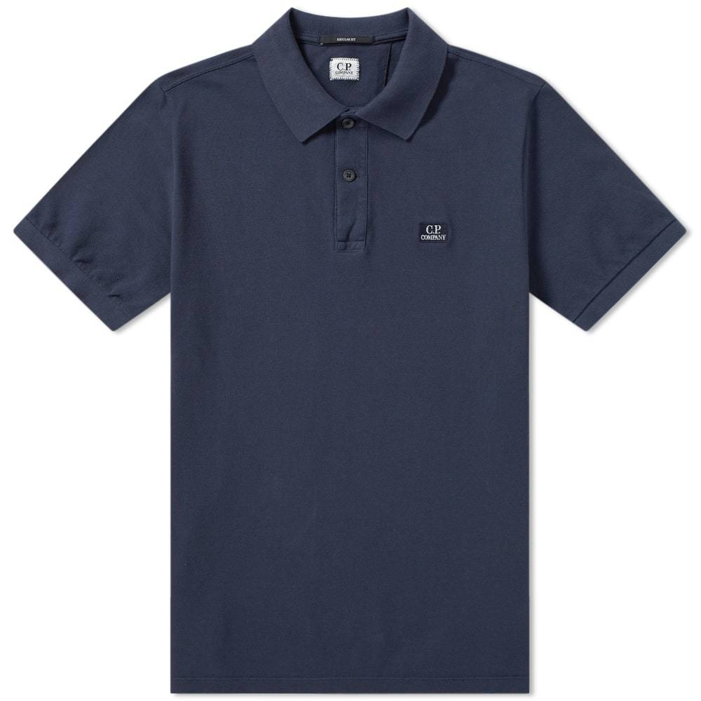 Photo: C.P. Company Pique Garment Dyed Polo
