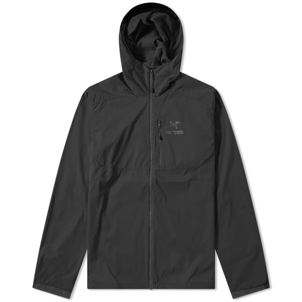 Photo: Arc'teryx Squamish Hooded Jacket Black
