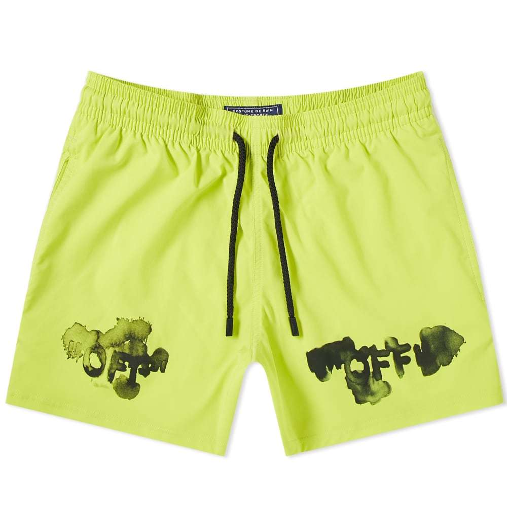 Photo: Off-White x Vilebrequin OFF Moorise Swim Short