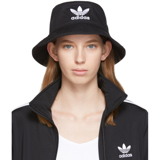 adidas Originals Black Adicolor Bucket Hat