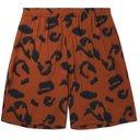Stella McCartney - Leopard-Print Voile Drawstring Shorts - Brown