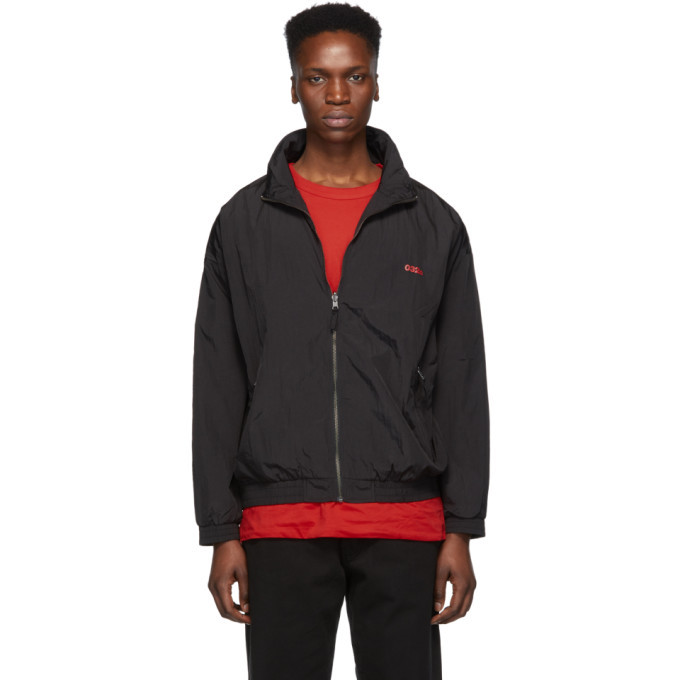 032c Reversible Black Nylon Track Jacket