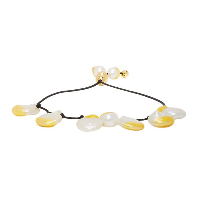 Photo: Panconesi Yellow Pearl Bracelet