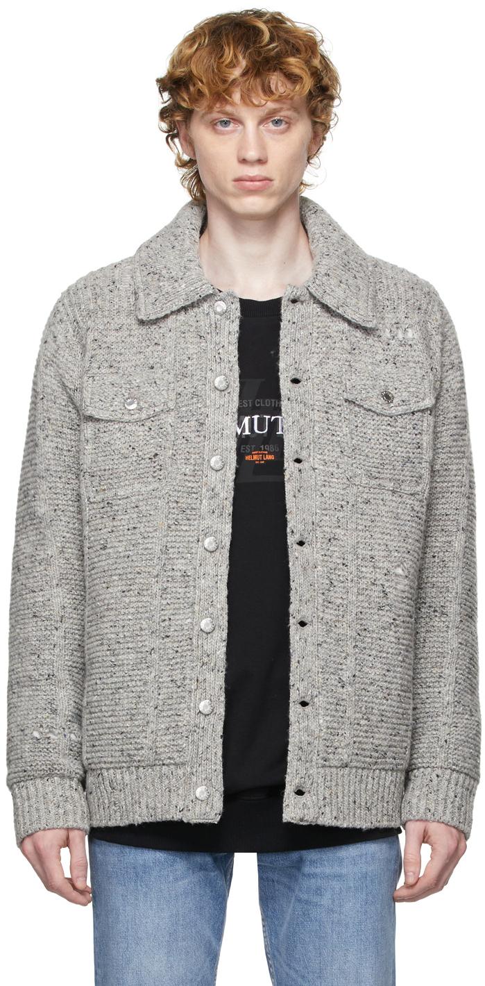 Photo: Helmut Lang Sweater Jacket