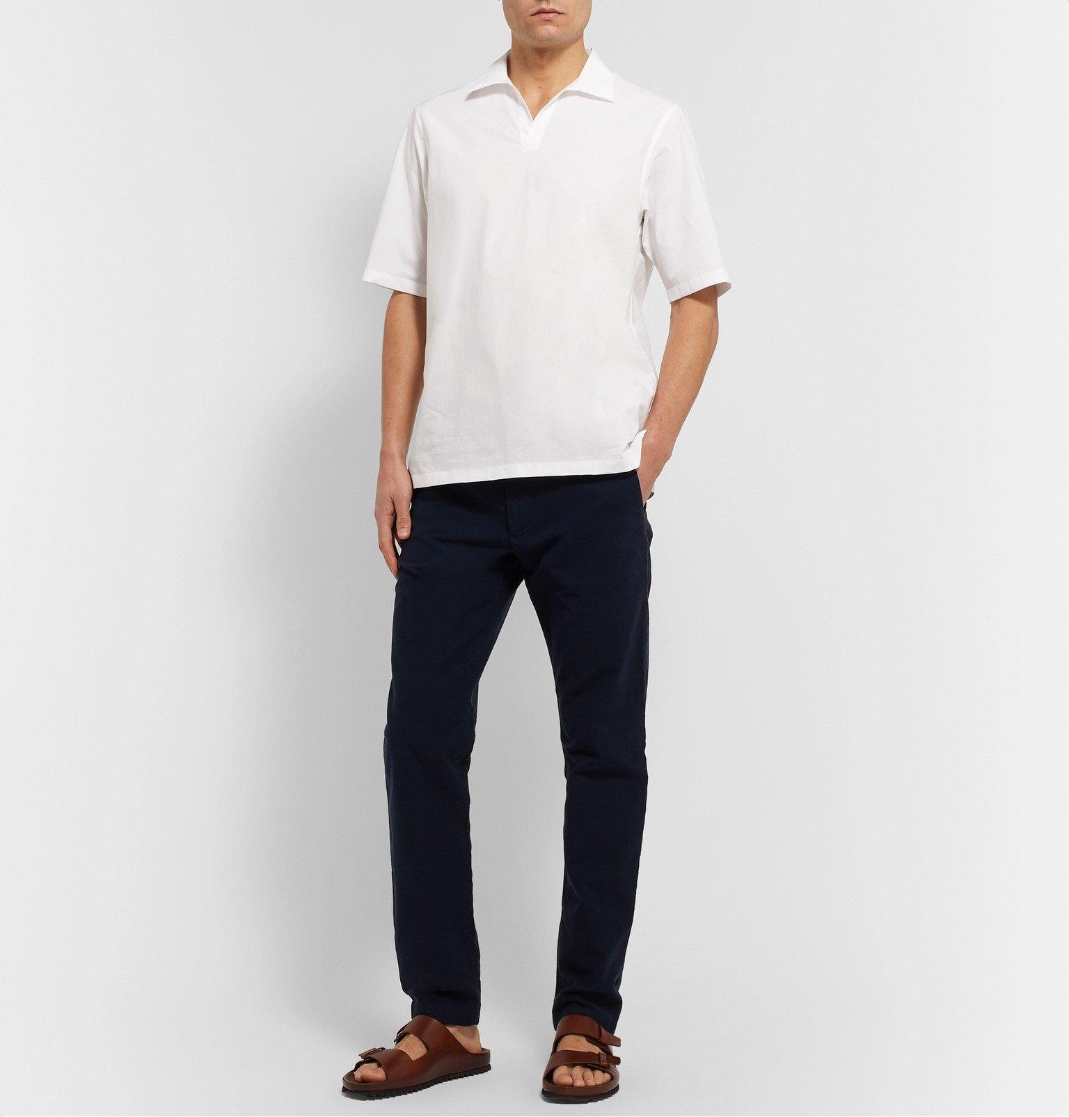 Officine Generale - Yann Cotton-Poplin Shirt - White