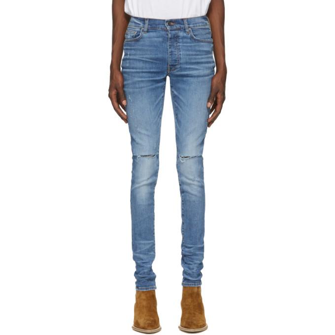 Photo: Amiri Blue Slash Jeans