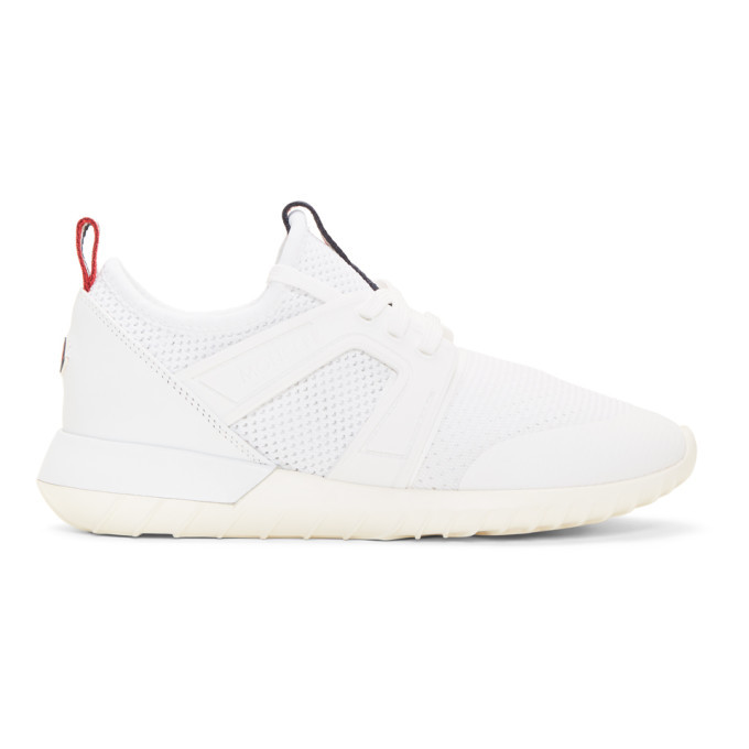 Photo: Moncler White Meline Sneakers
