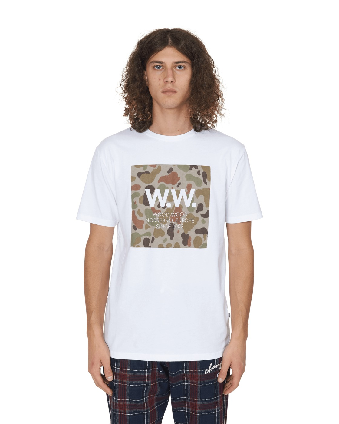 Photo: Wood Wood Ww Square T Shirt Bright White