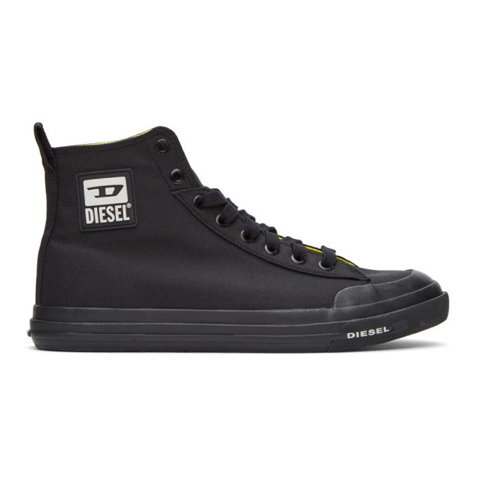 Photo: Diesel Black S-Astico MC Sneakers