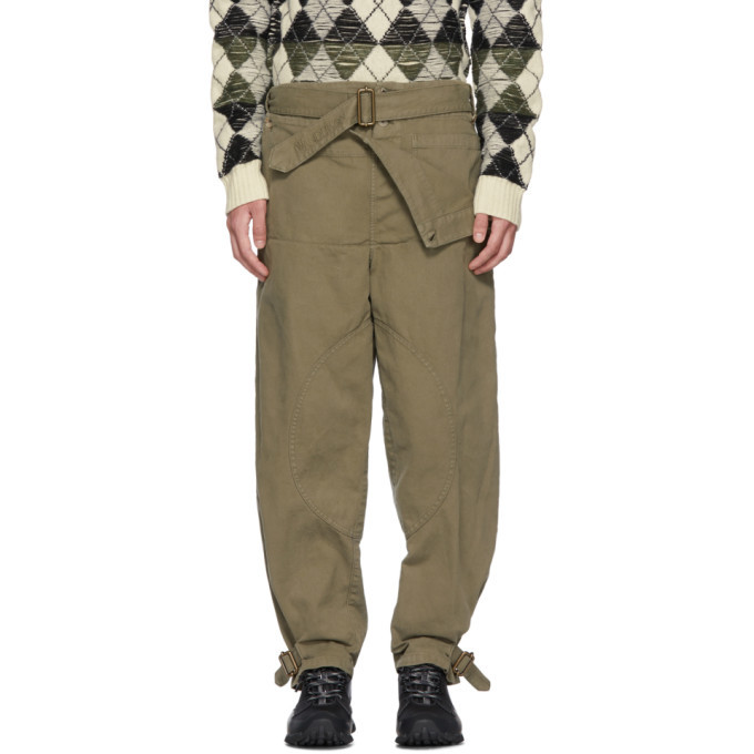 Photo: JW Anderson Khaki Dyed Army Trousers