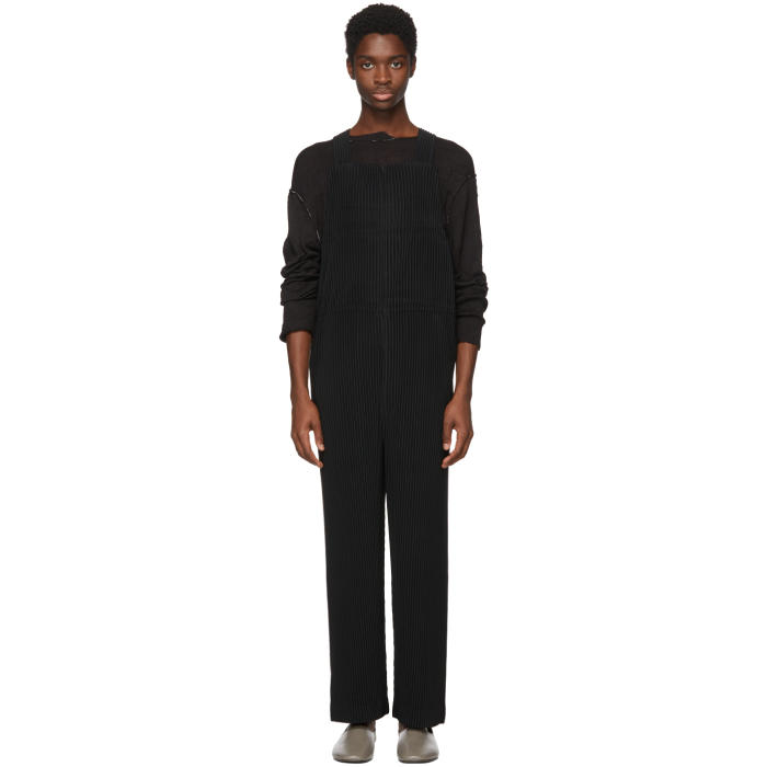 Photo: Homme Plissé Issey Miyake Black MC March Overalls