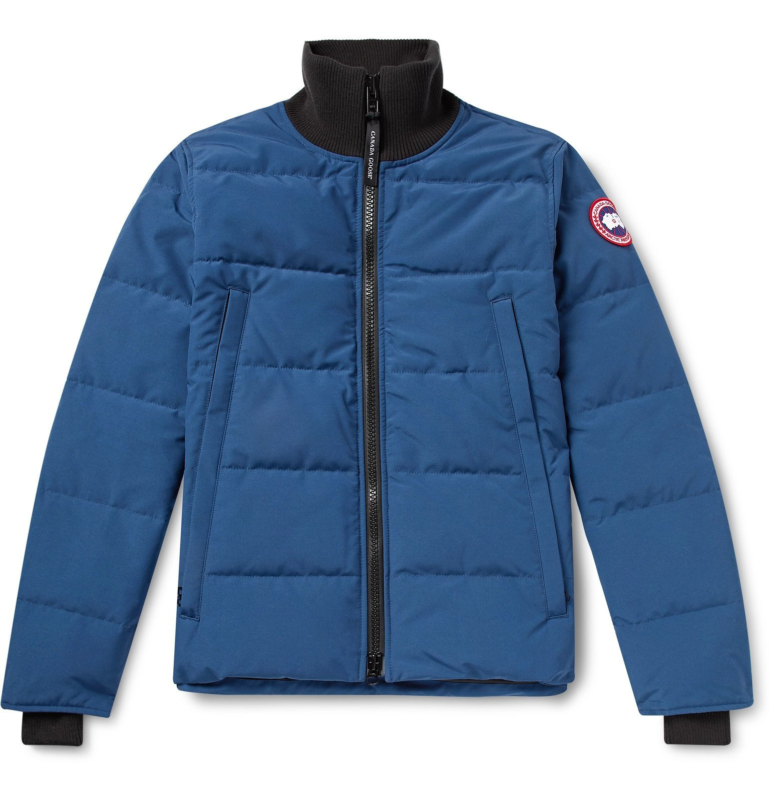Photo: Canada Goose - Woolford Slim-Fit Quilted Arctic Tech Down Jacket - Blue