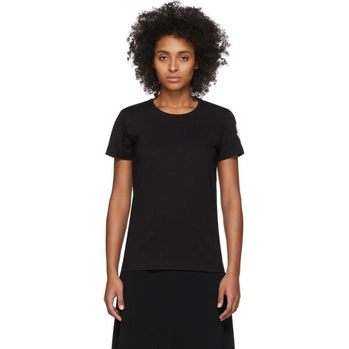 Photo: Moncler Black Logo Patch T-Shirt