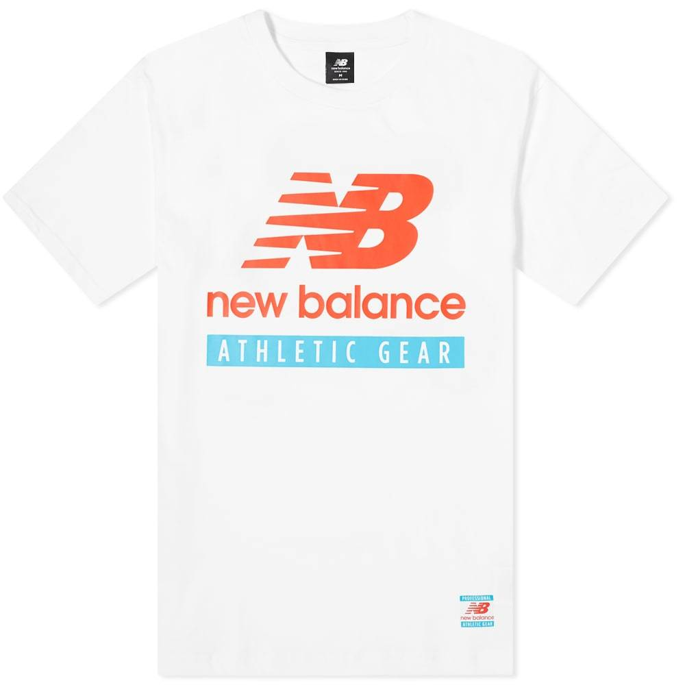 Photo: New Balance Essentials Logo Tee