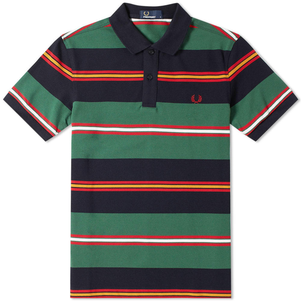 Photo: Fred Perry Contrast Stripe Polo