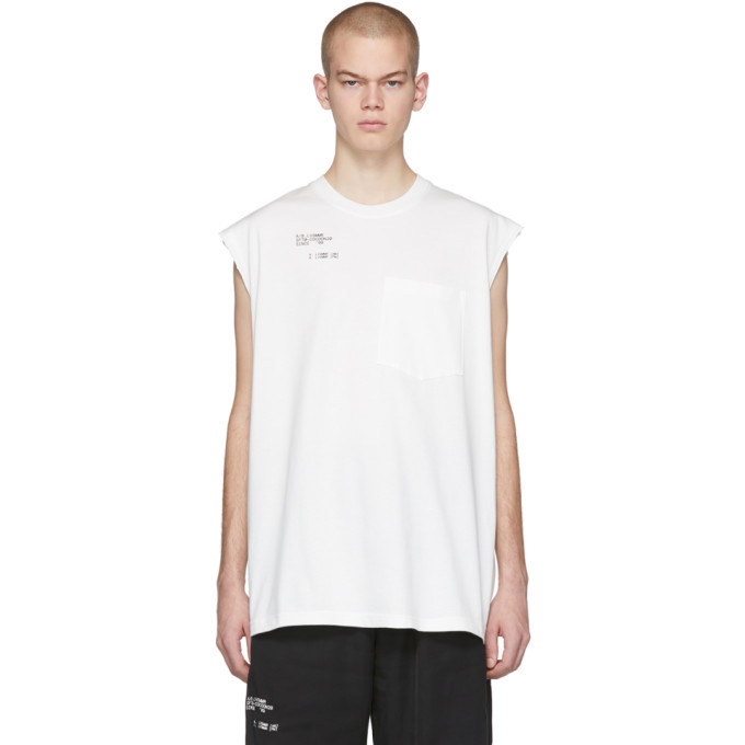 Photo: Song for the Mute White Set Sleeveless T-Shirt
